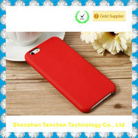 Tenchen original genuine leather mobile phone case for iphone 6