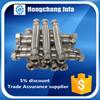 large diameter thread tube end stainless steel 304 braided hose