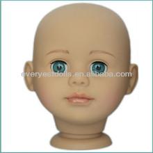 hair styling head model dolls