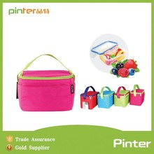 New design 300D polyester cooler lunch bag, insulated lunch bag