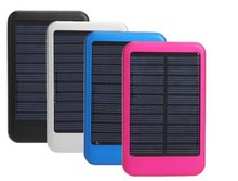 5000 mAh solar power bank new mobile phone charger