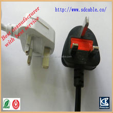 British power cable UK power cord iec c5 power connector lamp cord dimmer switch