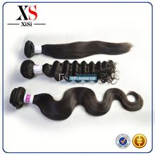 Wholesale 14 inch 40 inch brazilian body wave hair red hair machine to make hair extensions