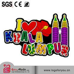 3D red lip shape fridge magnet for promotional Box-PVC rubber fridge magnet-0010