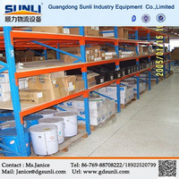High Quality Warehouse Storage Heavy Duty Wood Shelf