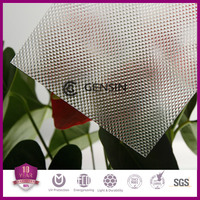 2.0-10mm Colored Embossed polycarbonate sheet /pc embossed panel /polycarbonate prices