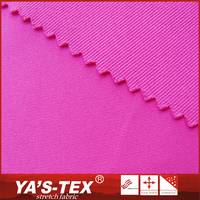 Wholesale textiles solid dyed 100% polyester twill fabric