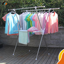 High performance indoor clothes dryer rack,Stainless steel rack stand,Adjustable standing clothes hanger