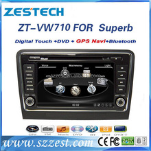 Car dvd gps player for Skoda Superb 2009-2012 car multimedia system with car Radio/SWC/OPS/IPAS/RDS/Visual-10discs/A10 chip