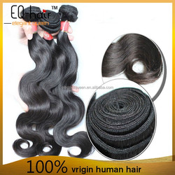 Grade 8A Unprocessed Wholesale Body Wave Brazilian Virgin Hair Natural Black Very Thick & Soft