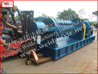 plastic rubber bale cutting machines, machine rubber