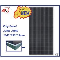 poly 300w pv solar panel price per watt for 30 kw solar system price in pakistan