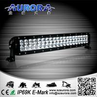 IP69K 20'' 200W dual row light bar atv spare parts