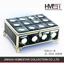 Factory sale china wholesale custom marble jewelry box