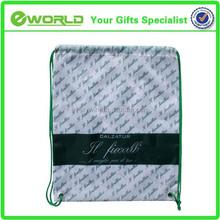 Most Popular silk printing 210D polyester drawstring bag