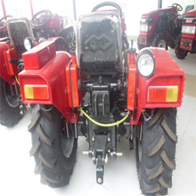 50hp 4wd farm tractor with front loader mini tractor