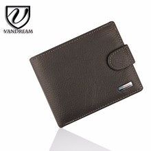 Fashion New Brand Wallet Genuine Leather Wallets Short style Purses Money Bag M-21