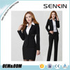 Wholesale women business suits custom Lady office uniform in Guangzhou Factory