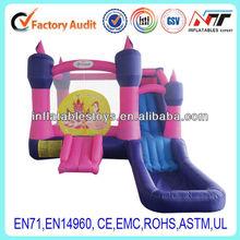 princess inflatable castle