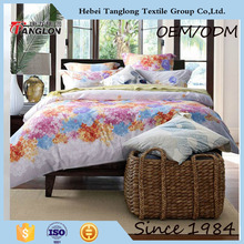 High quality made in China bedsheets cotton home textile low price bedsheets