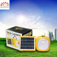 1W solar camping lantern led solar light with usb port to charge the mobile phone solar power bank