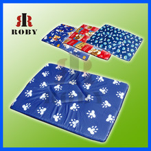 New arrival large size print soft warm cotton padded pet cushion for dogs and cats