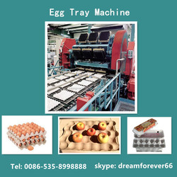 2016 new egg tray machine fast speed high efficiency