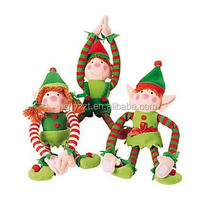 Рождество висячие эльф / рождество эльф кукла / рождество эльф костюмы