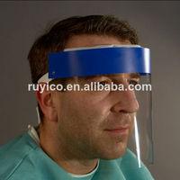 disposable anti-fog face shield visor for dental using