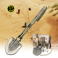Survival First Aid Kits Best Folding Shovel Outdoor Multifunction Tool