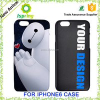 Common mobile accessories, customise phone case for iphone 5 6 6+ case