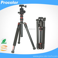 New business ideas stability Multi-angle rotation aluminum video Desktop Tripod