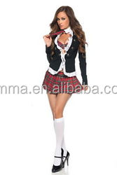 Halloween cheap wholesale sex hot school girl sexy costume carnival cosplay costumes BWG10336