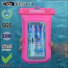 for fishing mobile waterproof bag/waterproof bags for mobile/waterproof pouch for phone