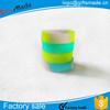 wholesale multi colors cheap custom silicon bracelet