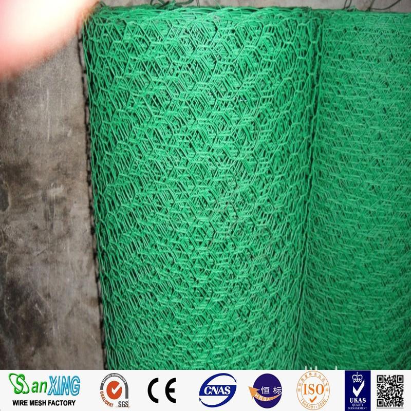 Black/green Vinyl Coated Poultry Netting/hexagonal Wire Netting ...