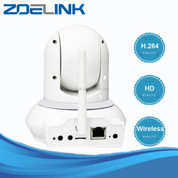 Latest new design wireless p2p pan tilt ip camera for home security baby monitor wireless baby video monitor