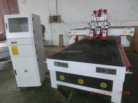 hot sale three spindles cnc router engraving machine for wood furniture industry with good performence/cnc lathe machine