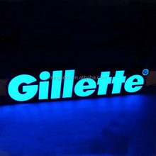 Irregular Outdoor Acrylic Channel Letter led advertising display