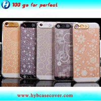 2014 factory hook LED phone case for iphone5