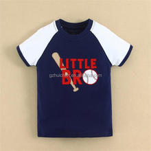 2015 baby clothing 100 combed cotton baby boy t shirt