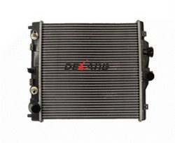 Aluminum auto engine radiator with oil cooler for HONDA CIVIC 1995-2001 OE No# 19010P03902 (DL-B061A)