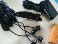Car Reverse back up Parking Radar Detector + Led Display + 4 Sensor Black color