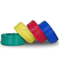300/500V pvc insulation all size best color electrical cable wire