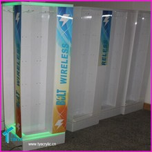 Best Selling Factory Wholesale Competitive Price Acrylic Led lighting Floor Display