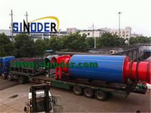 Supply charcoal briquette dryer machine used for drying sawdsut,sand,coal,mine powder- Sinoder Brand