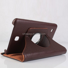 7 inch Rotation standing tablet pc cases for Samsung Galaxy Tab 4 T230