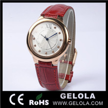 Men genuine leather watch sport watches ots