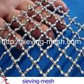 de acero inoxidable de malla de alambre decorativo de malla para los gabinetes