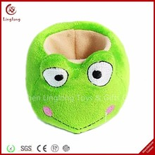 Wholesale plush frog cell phone holder stuffed cartoon animal toy soft smart phone stand holders